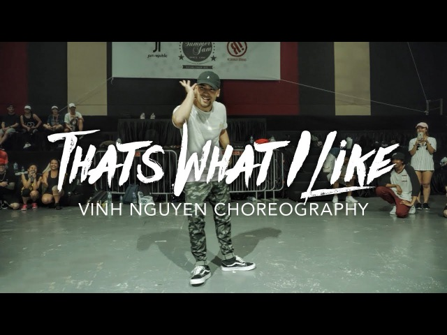 Thats What I Like - Bruno Mars | Vinh Nguyen Choreography | Summer Jam Dance Camp 2017