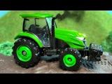 Tractores de Construcción para Niños en español - Excavadora, Camión - NUEVO Construcción Carro