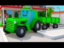 Развивающие мультики про машинки ЦВЕТНЫЕ ТРАКТОРЫ - Все серии - Видео для детей,...
