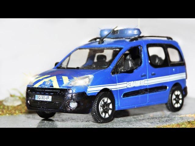 Der Streifenwagen mit dem Polizeiauto, Krankenwagen und Die Vandalen Neu ALT Kinderfilm