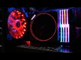 AMD Ryzen Wraith Max Cooler - RGB Demo