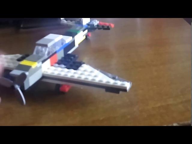 Лего самолет ИЛ 2 самоделки 1 часть
