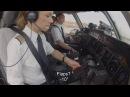 Lufthansa Cargo MD 11 Departure from Sao Paulo English Subtitles