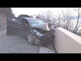 Подборка жестких аварий Февраля (четвертая неделя)