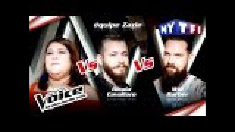 Audrey VS Nicola Cavallaro VS Will Barber   The Voice France 2017   Epreuve Ultime