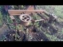 картофелекопалка и трактор Т-25