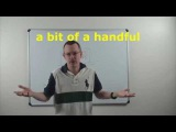 Learn English Daily Easy English Expression 0696 a bit of a handful