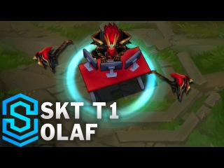 SKT T1 Olaf Skin Spotlight - League of Legends