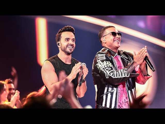 Luis Fonsi Daddy Yankee -Despacito Premios Billboard Latin Music Awards 2017