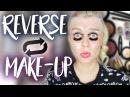 Omg .. Was hab ich getan 😱 REVERSE Make-up CHALLENGE Dagi Bee