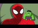 Великий Человек-Паук. Все серии подряд Сборник мультфильмов Marvel о супергероях. Сезон1 Серии 17-20