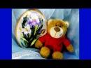Вышивка лентами Ирисы embroidery ribbons iris