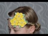 Резинка на голову для девочкиEraser on the head for girls