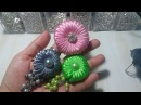 34) DIY - Tutorial || Cara Membuat Bros Donat Juntai || How to Make Donut Brooch