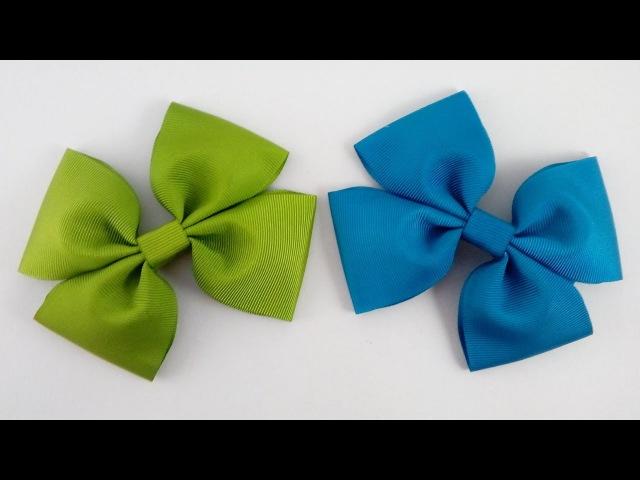 LAÇO SIMPLES DE GORGURÃO SEM COSTURA 🎀 DIY-PAP 🎀
