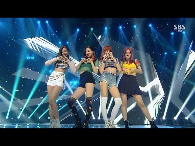 BLACKPINK - '마지막처럼 (AS IF IT'S YOUR LAST) Remix ver.' 0723 SBS Inkigayo