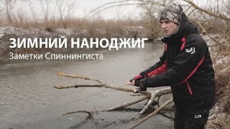 Заметки спиннингиста: Зимний НАНОДЖИГ