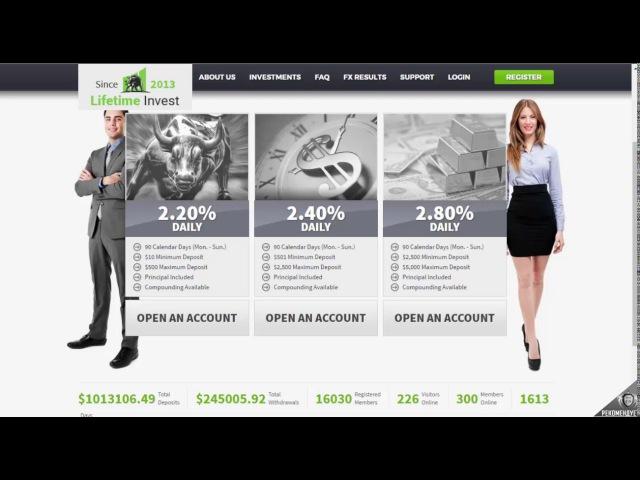 Обзор проекта Lifetimeinvest com » Freewka.com - Смотреть онлайн в хорощем качестве
