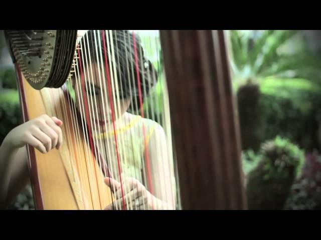 Secret Garden - Song from a Secret Garden [Harp Cover] by Maria Pratiwi The Harpist