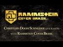 Rammstein drummer Christoph Doom Schneider jams 'Ramm4' with Rammstein Cover Brasil