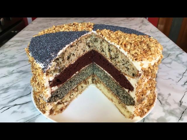 Торт Королевский (Очень Вкусно) Сметанный Торт Royal Cake Пошаговый Рецепт