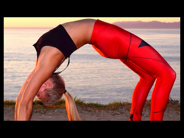 Yoga Stretch for Sore Muscles
