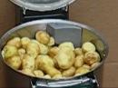 Картофелечистка Fimar - принцип работы.