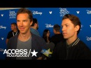 Benedict Cumberbatch Tom Holland On Fan Reaction To Avengers Infinity War Footage At D23