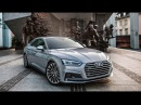 The beautiful lines of the new 2017/18 Audi A5 Sportback 2.0TFSI quattro S-line