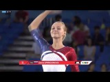 Daria Spiridonova FX - Universiade 2017 quals