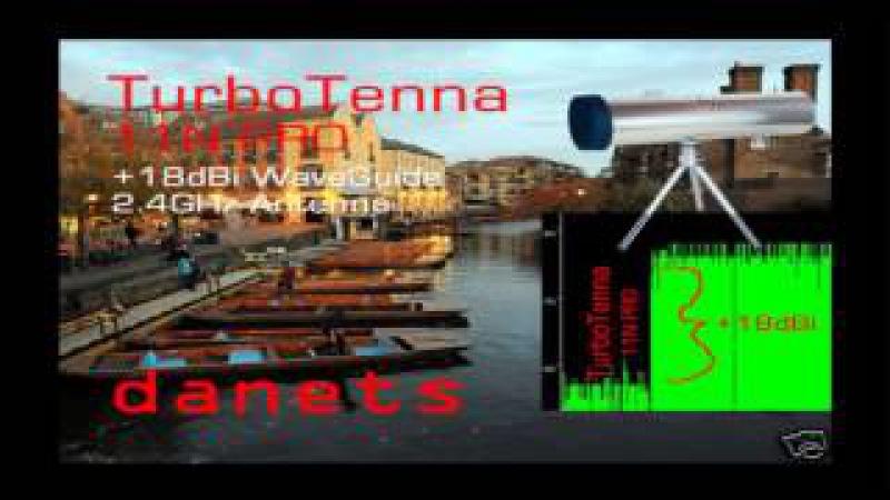 18dBi TurboTenna WiFi Cantenna 2.4GHz