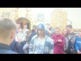 Кусок видео с моего батла в Горках))