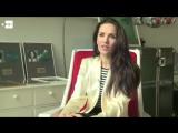 Entrevista previa a la conducción de los premios Platino
