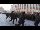 Строевая песня курсантов из Анголы _ Military students from Angola sing