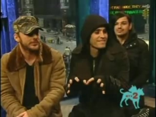 30 Seconds to Mars T-MINUS ROCK 10 30 06 INTERVIEW(1)