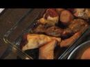 Красивая подача - Лесные грибы, запеченные в сливках