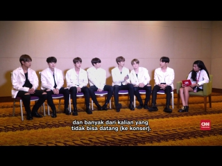170501 BTS supports Indonesian ARMYs who are taking the National Examination  CNN Indonesia