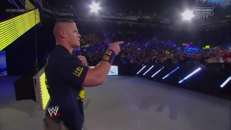 WWE 2013 Royal Rumble / 12 Stones – We Are One / ALEXVIT