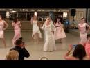 Крутой танец невесты и подружек. Супер подарок жениху на свадьбу.