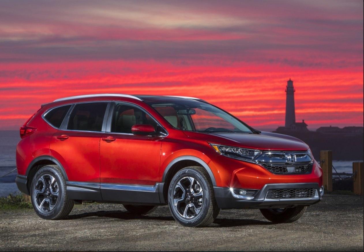 Honda назвала российские цены на новый CR-V .