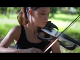 Shape of You (Ed Sheeran) - Electric Violin Cover   Caitlin De Ville