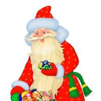 Логотип Дед Мороз и Снегурочка! Новый год! Тюмень! 2019