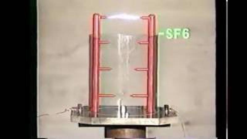 Как работает SF6 ЭЛЕГАЗ в выключателях