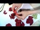 Хвалева Марина 1 Как создать цветок георгина для композиции в стиле Марсала