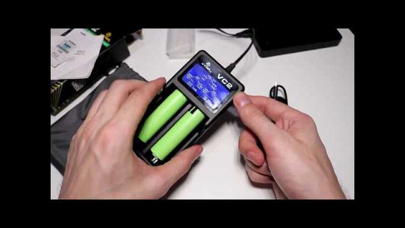 VC2 XTAR зарядное устройство для 10440/16340/14500/14650/17670/18350/18500/18650/18700/26650/22650/