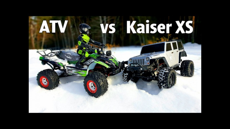 RC Cars OFF Road 4x4 — ATV FEIYUE FY 04 vs Thunder Tiger Kaiser XS — RC Extreme Pictures