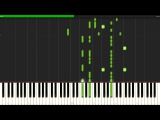 Fallen Angel - Panty and stocking ED Piano Tutorial (Synthesia)  Animenz