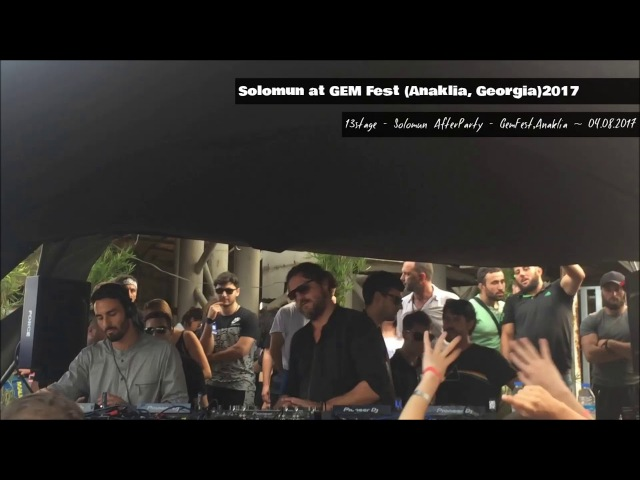 Solomun @ Eye Stage - AfterParty, GemFest Anaklia (04.08.2017) 40.000.000 Views • SUBSCRIBE
