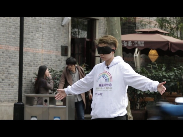 Social Experiment in China -- I'm gay, would you hug me | Rela