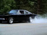 1969 charger burn outs